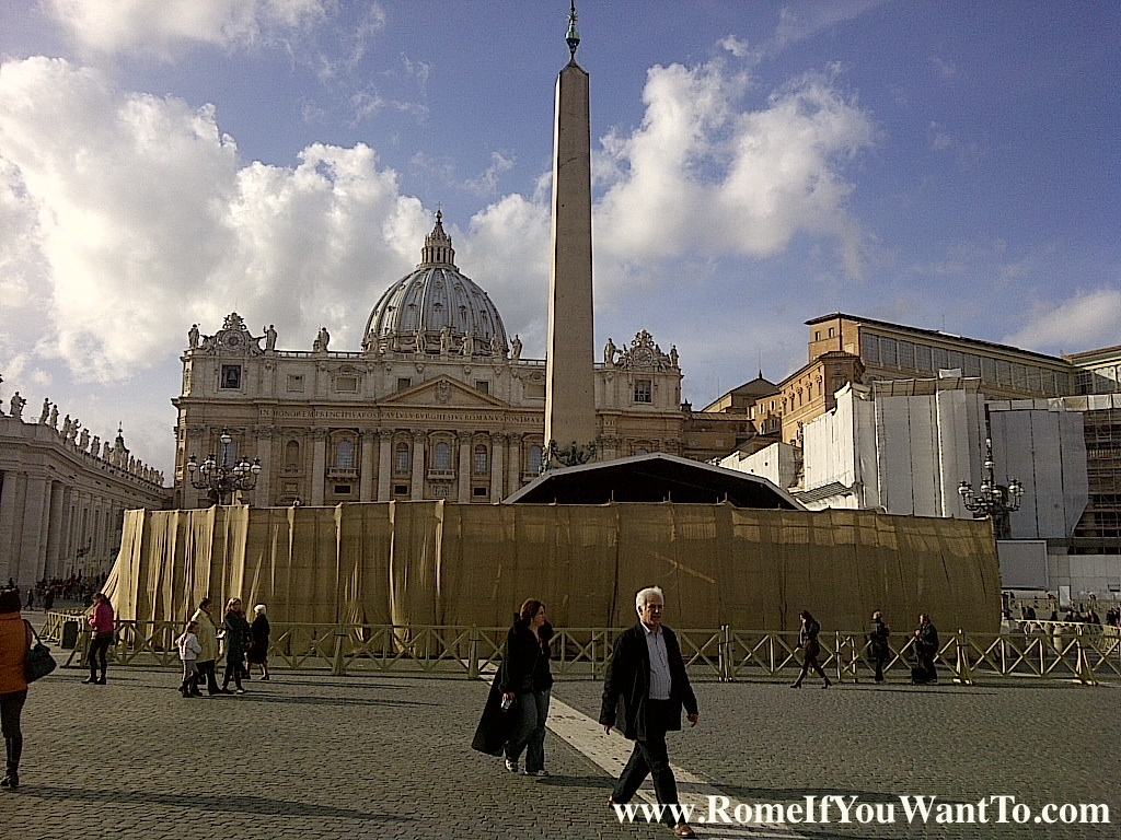 Just Another Day in St. Peter's Square