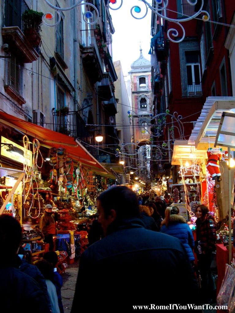 The Street of the Living Nativity Scene