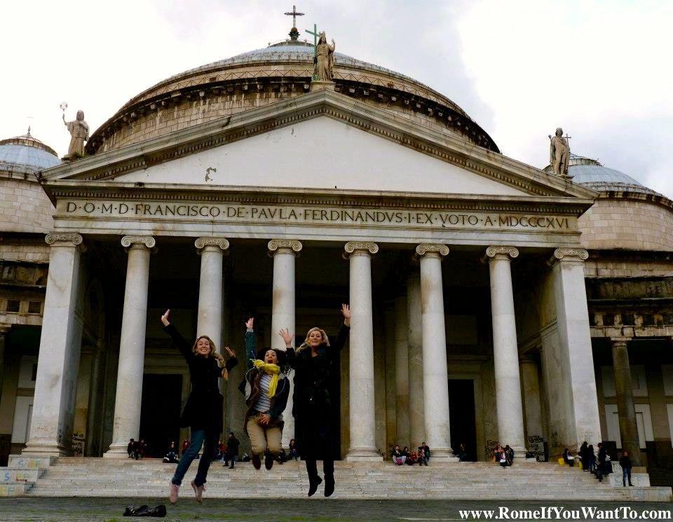 Three girls in Naples