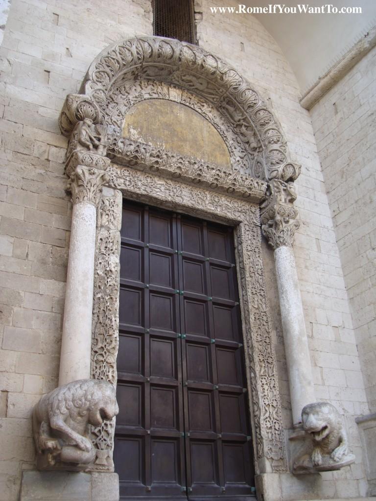 Bari St. Nicola door