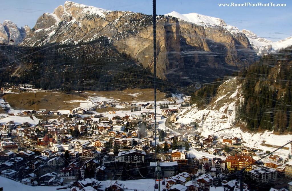Selva from the Ski Lift