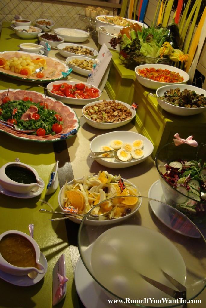 Babingtons buffet