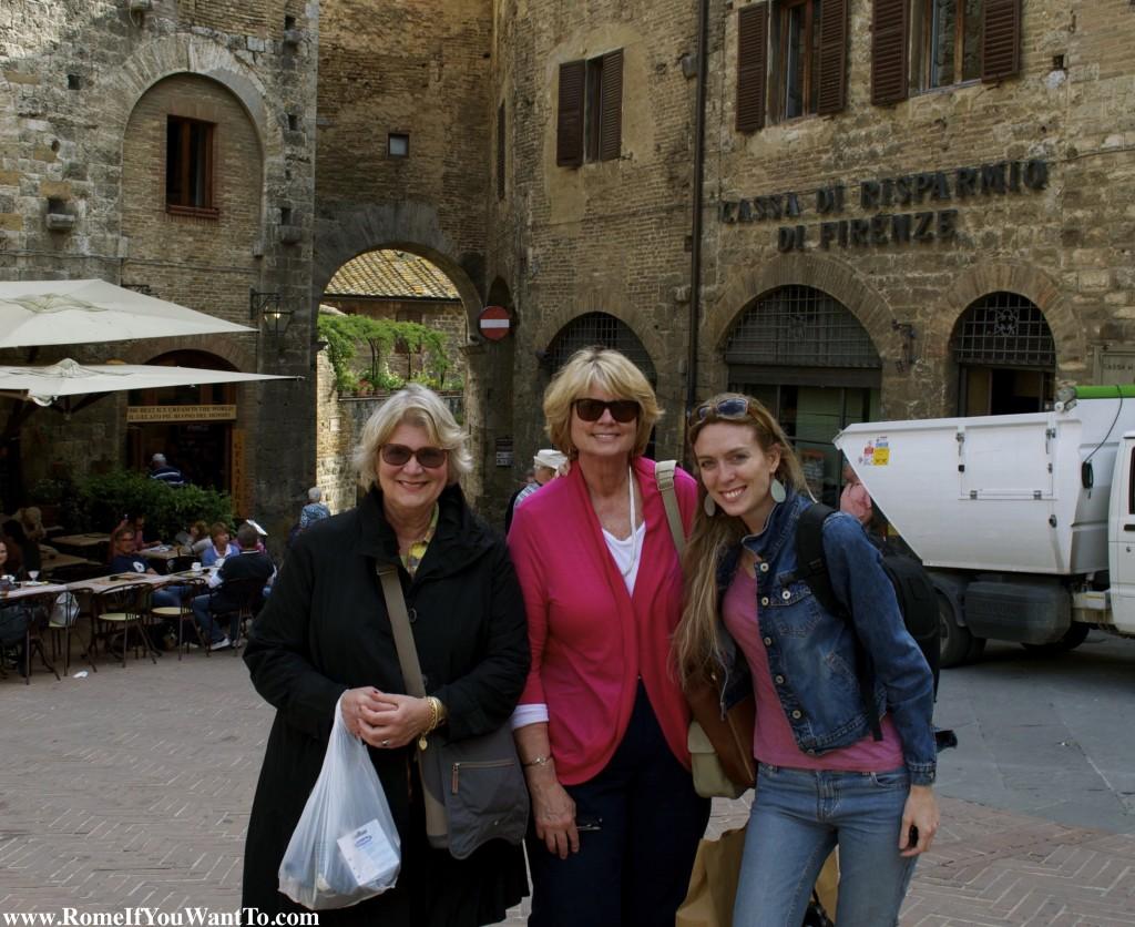 Three Knights in Tuscany