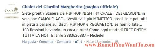 Hip Hop Night! Camouflage! FREE ENTRY!!!!   Forget the Random English here... Camouflage at a Hip Hop night?