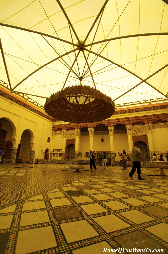 Inside the Museum of Marrakech