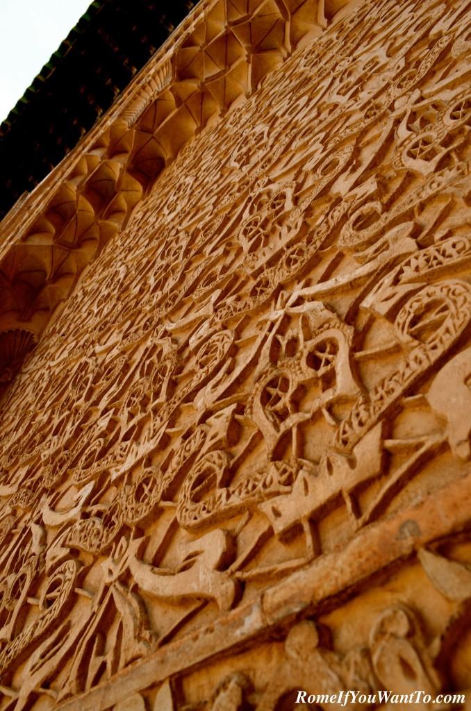 In the Madrasa Ben Youssef