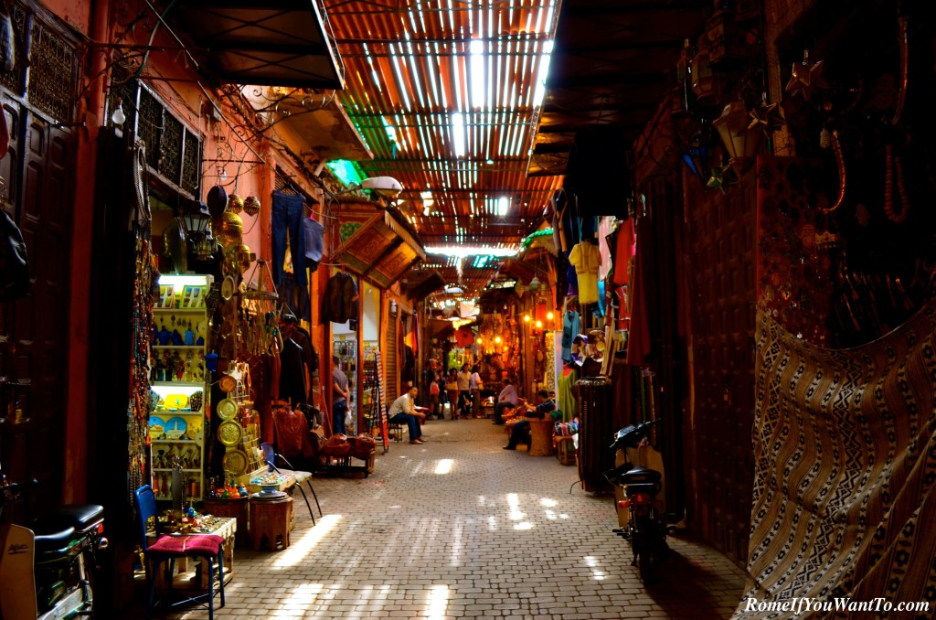 In the Souk.