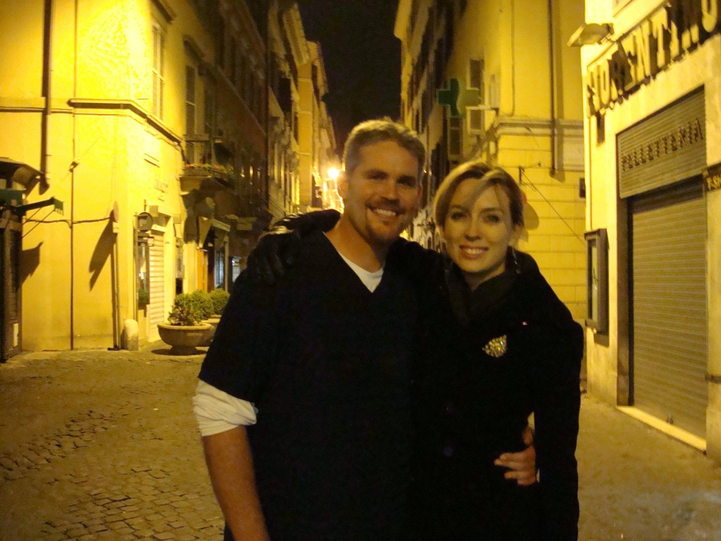 With Scott in Rome 2012