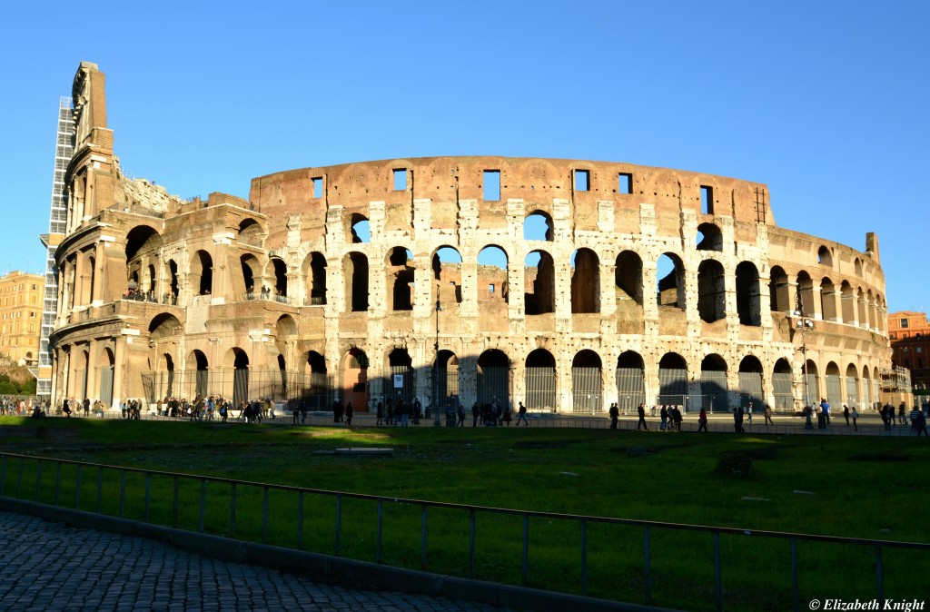 No lines at the Colosseum! Click on the pic to see the article.