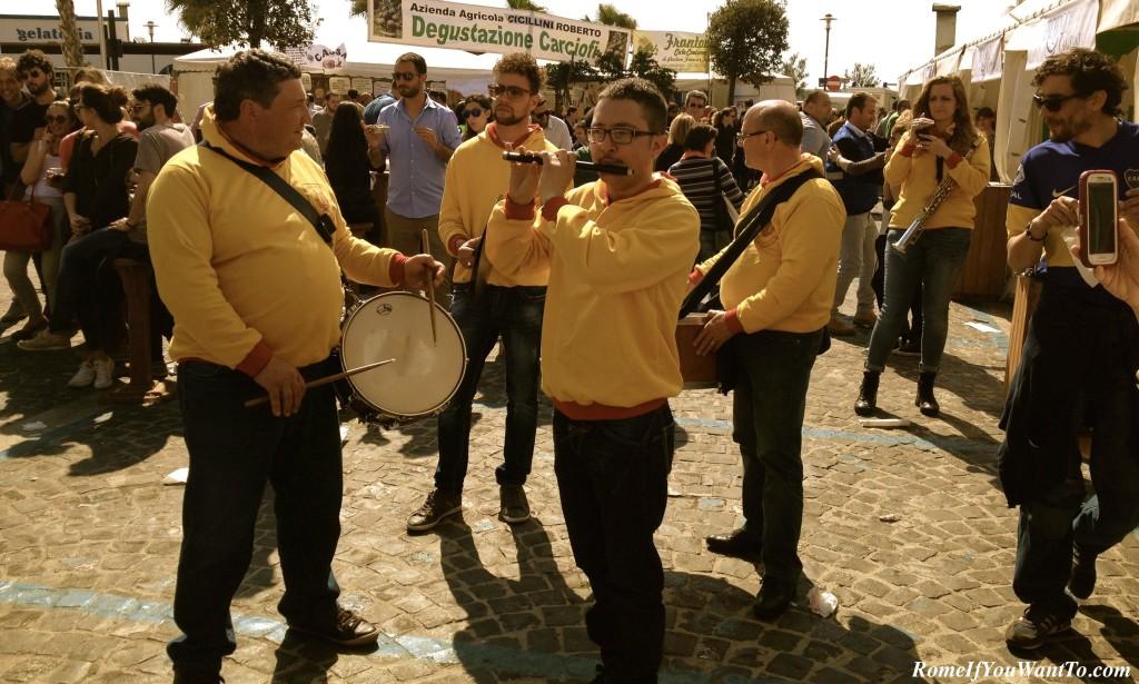 Artichoke festival Sagra del Carciofo Ladispoli Italy