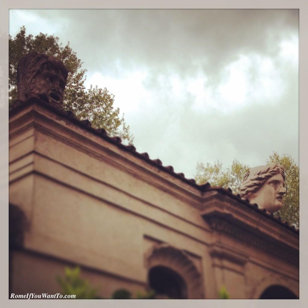 Palazzo Sacchetti Rome Grande Bellezza Great Beauty Garden