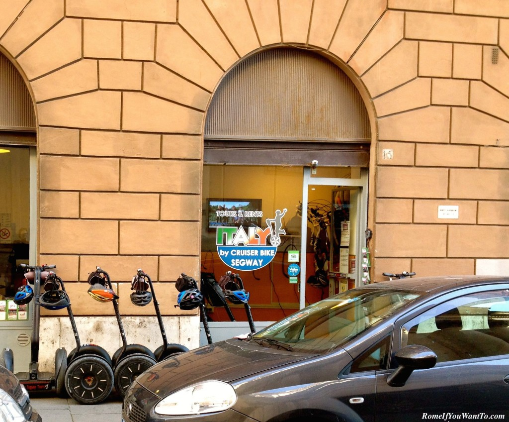 Italy Segway Tours is located just behind Piazza Venezia downtown. Super easy!
