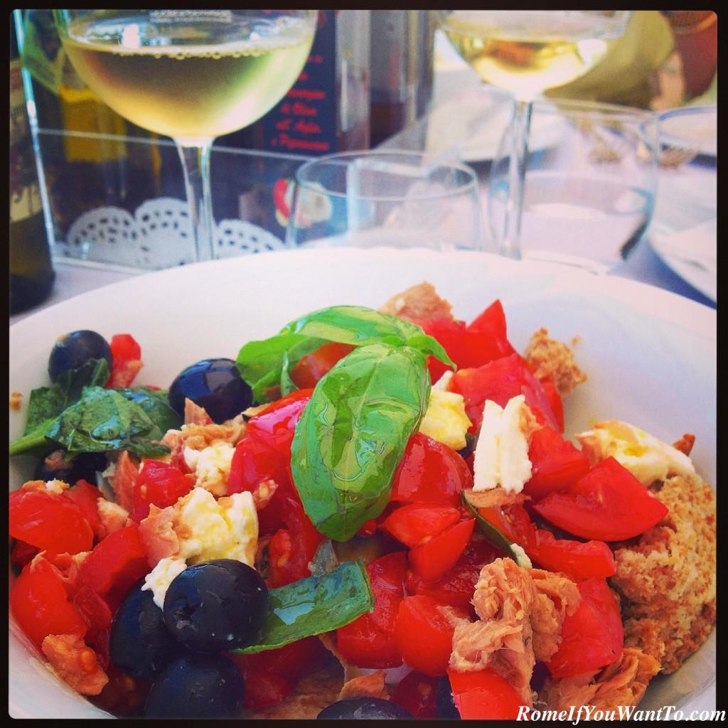 Amalfi coast food