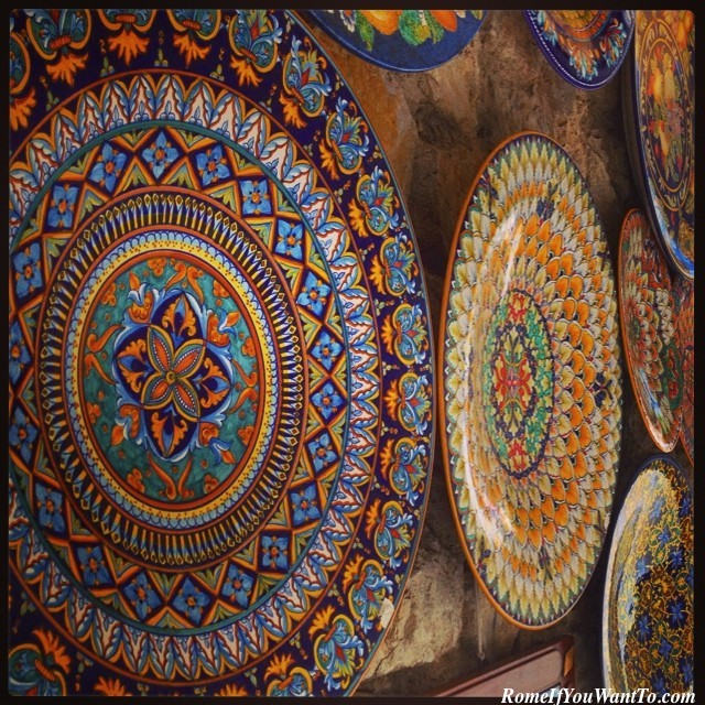 Ravello Amalfi Coast Ceramics