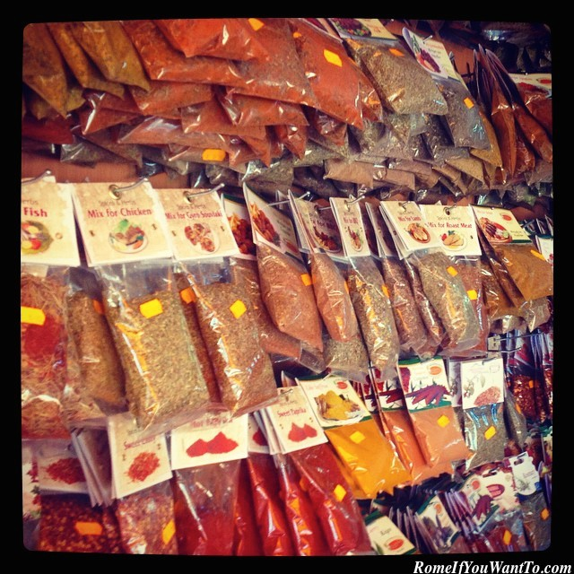 Greece Greek Spices Shopping Rhodes