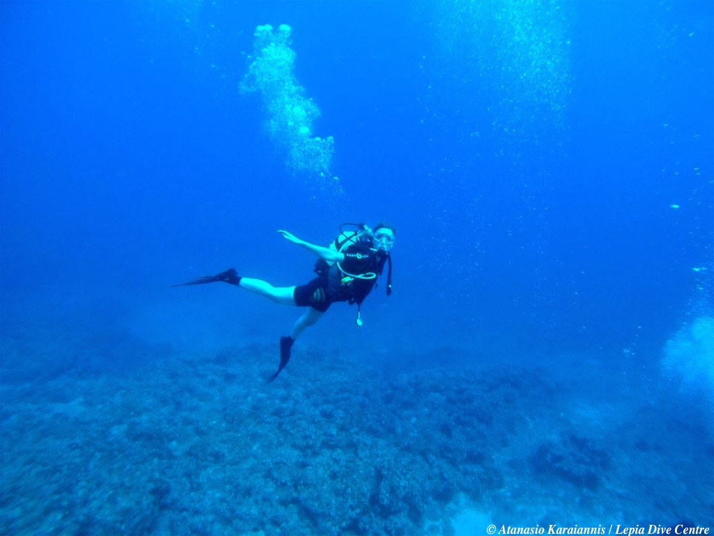Greece Rhodes Scuba Dive Lindos Lepia Dive