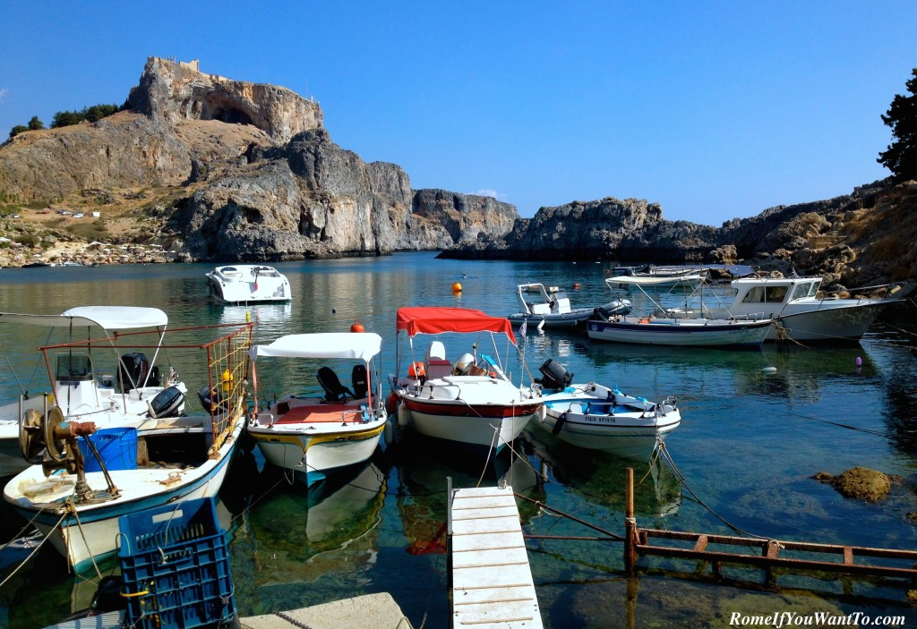 St. Paul's Bay, Rhodes, Greece