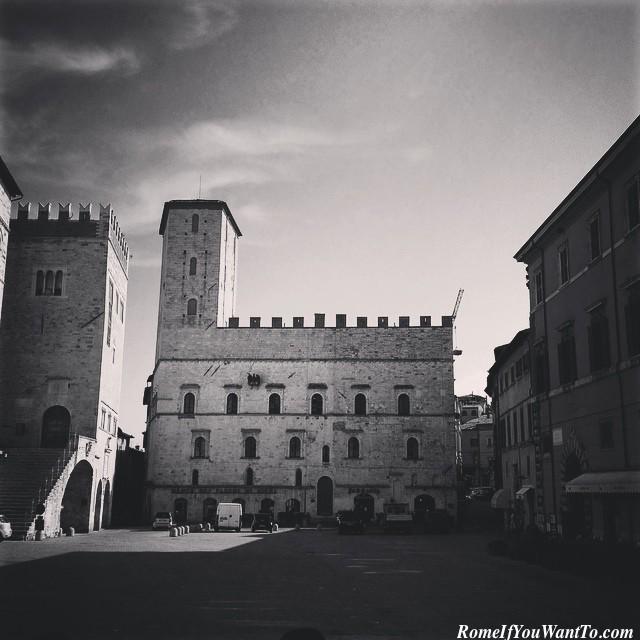 Piazza del Popolo, Todi, Umbria, Italy