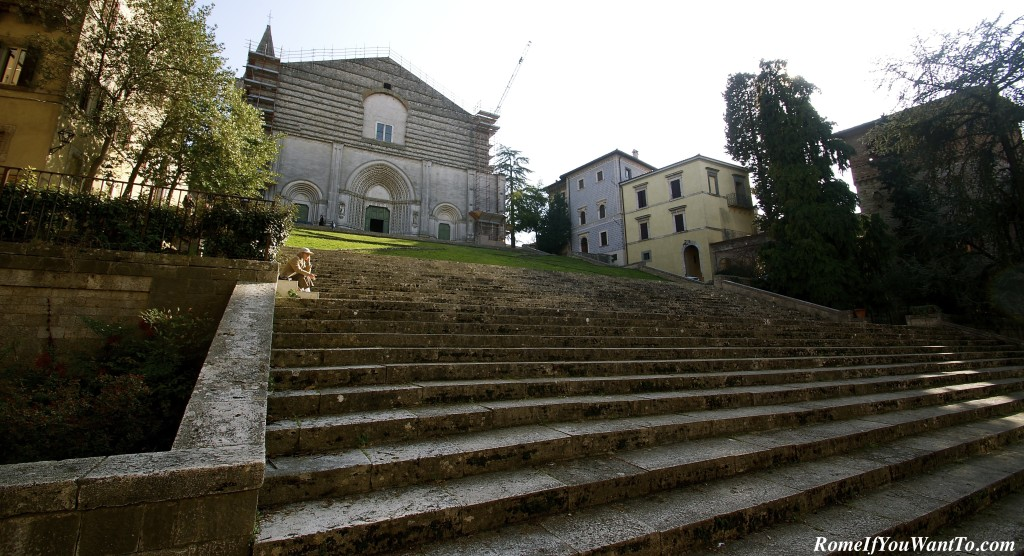 Todi, Umbria, Italy, The Church of San Fortunato