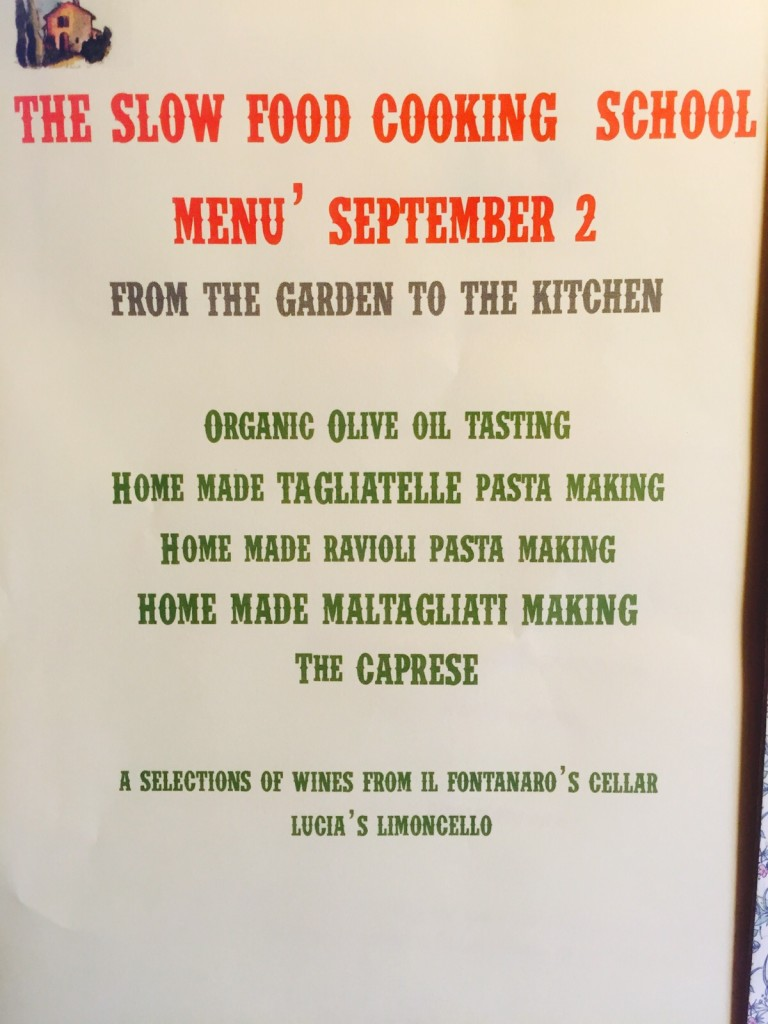 Il Fontanaro Cooking Class Umbria