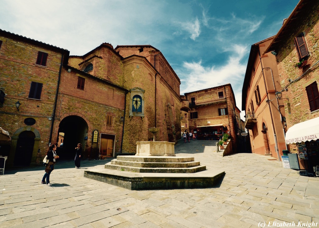 Umbria - Nearby Town of Panicale