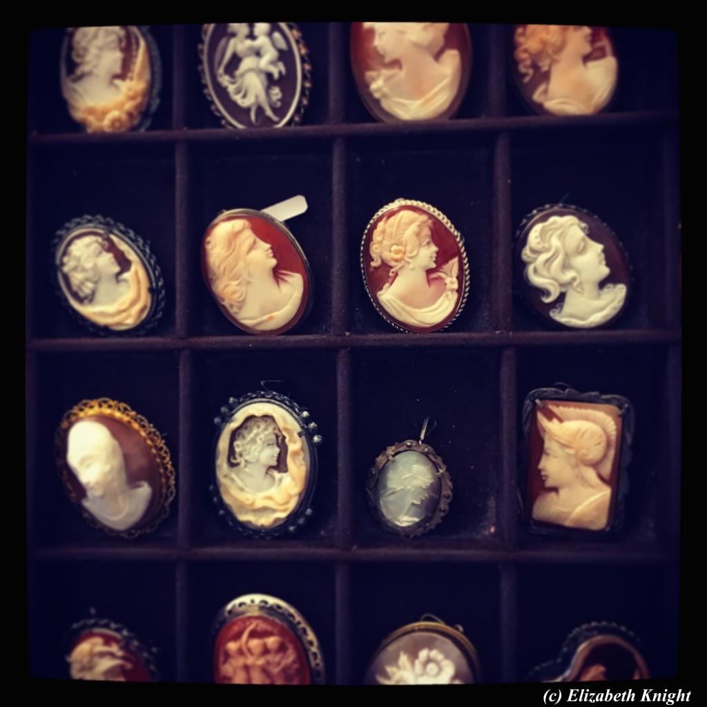 Eredi Jovon cameos Venice jewelry